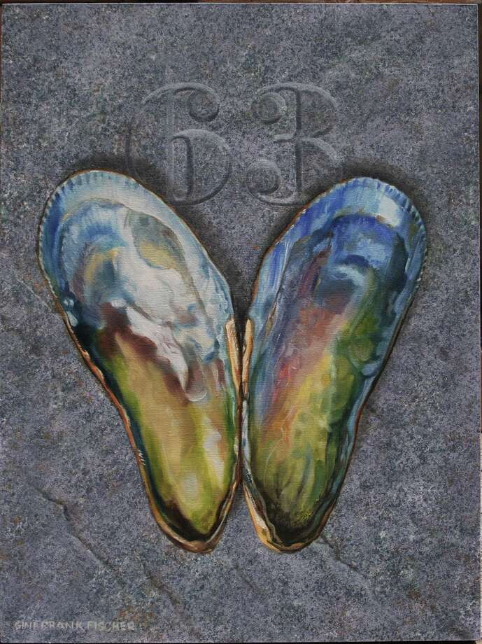 """Mussels Love 63"" by Wilton artist Gini Frank Fischer. Photo: Contributed Photo / Gini Frank Fischer"
