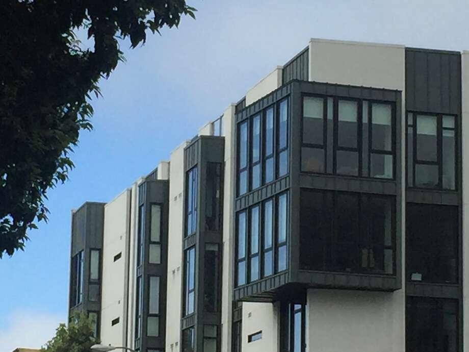 David Baker Architects' 300 Ivy is among the striking contemporary buildings added this decade to Hayes Valley. Photo: The Chronicle, John King