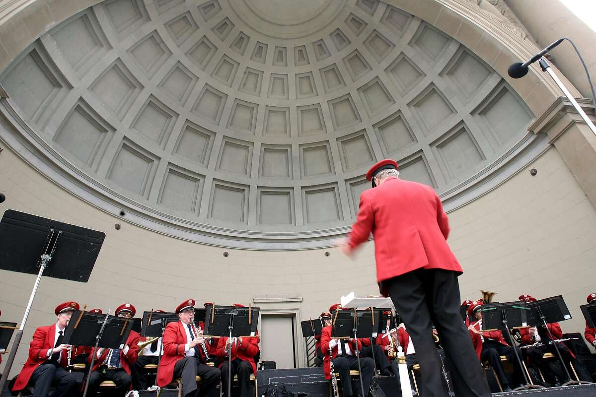 Performing in a band shell between the Academy of Sciences and the de Young Museum, this symphonic band has been filling the park with big sounds since 1882. Free concerts run every Sunday at 1 p.m. through the summer.