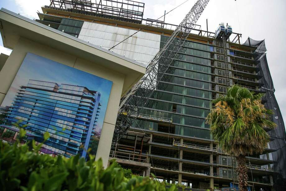 Not needed: More luxury apartment buildings. ( Michael Ciaglo / Houston Chronicle ) Photo: Michael Ciaglo, Staff / © 2016  Houston Chronicle