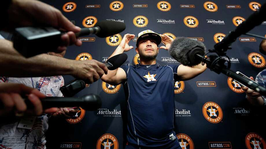 Jose Altuve2012, 2014, 2015, 2016The Astros second baseman made his fourth All-Star team in just his fifth full season in the big leagues. This will be his second straight year as an All-Star starter.Browse through the photos to see every Astros player who has made the All-Star team. Photo: Karen Warren, Houston Chronicle / © 2016 Houston Chronicle