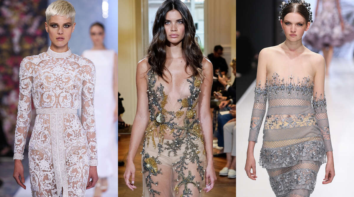 Naked dresses The naked dress first made its debut in 2015, but has steadily been on the red carpet and runway throughout 2016. At this point, there are only so many celebrity backsides that a society can take and we think we are reaching that limit. It's time we let another dress get its 15 minutes of fame.
