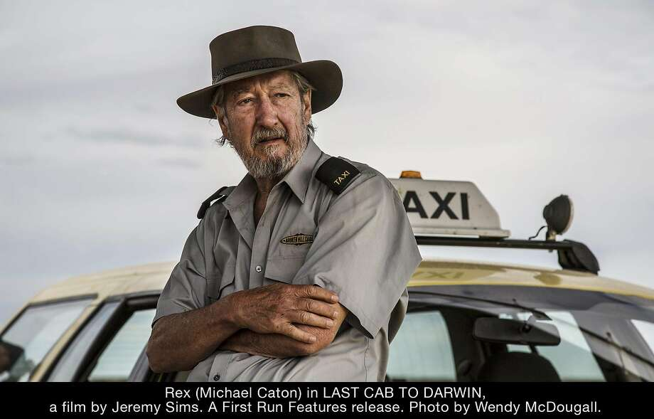 """Terminally ill Rex (Michael Caton) decides to drive his taxi to see a right-to-die doctor in """"Last Cab to Darwin."""" Photo: First Run Features"""