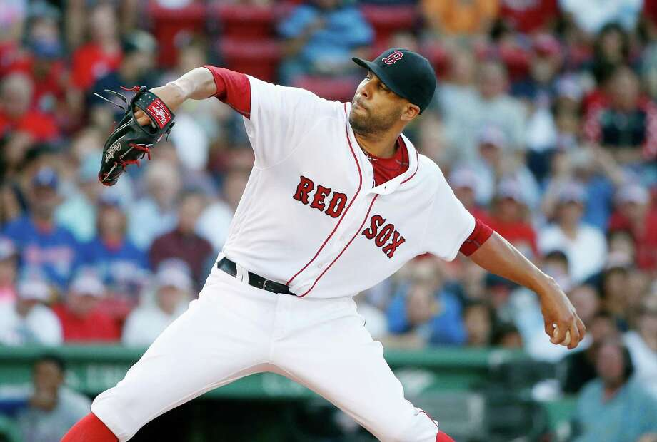 Boston Red Sox's David Price pitches during the first inning of a baseball game against the Texas Rangers in Boston, Tuesday, July 5, 2016. (AP Photo/Michael Dwyer) ORG XMIT: MAMD101 Photo: Michael Dwyer / Copyright 2016 The Associated Press. All rights reserved. This m
