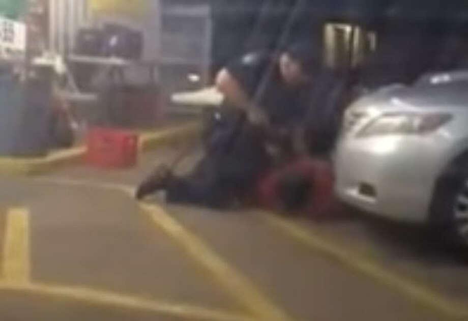 Video shows Louisiana police officer fatally shooting