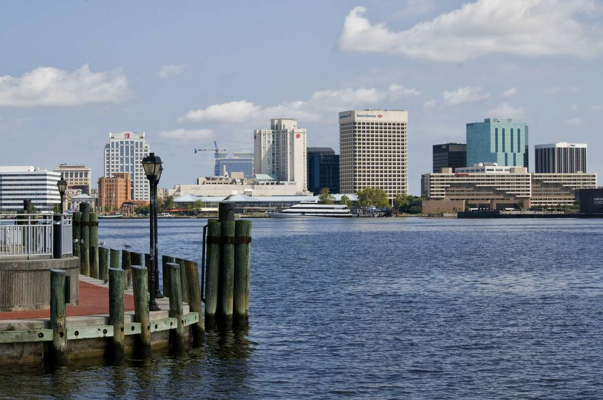 20. Norfolk-Portsmouth-Newport News, Virginia Up 10 spots from last year