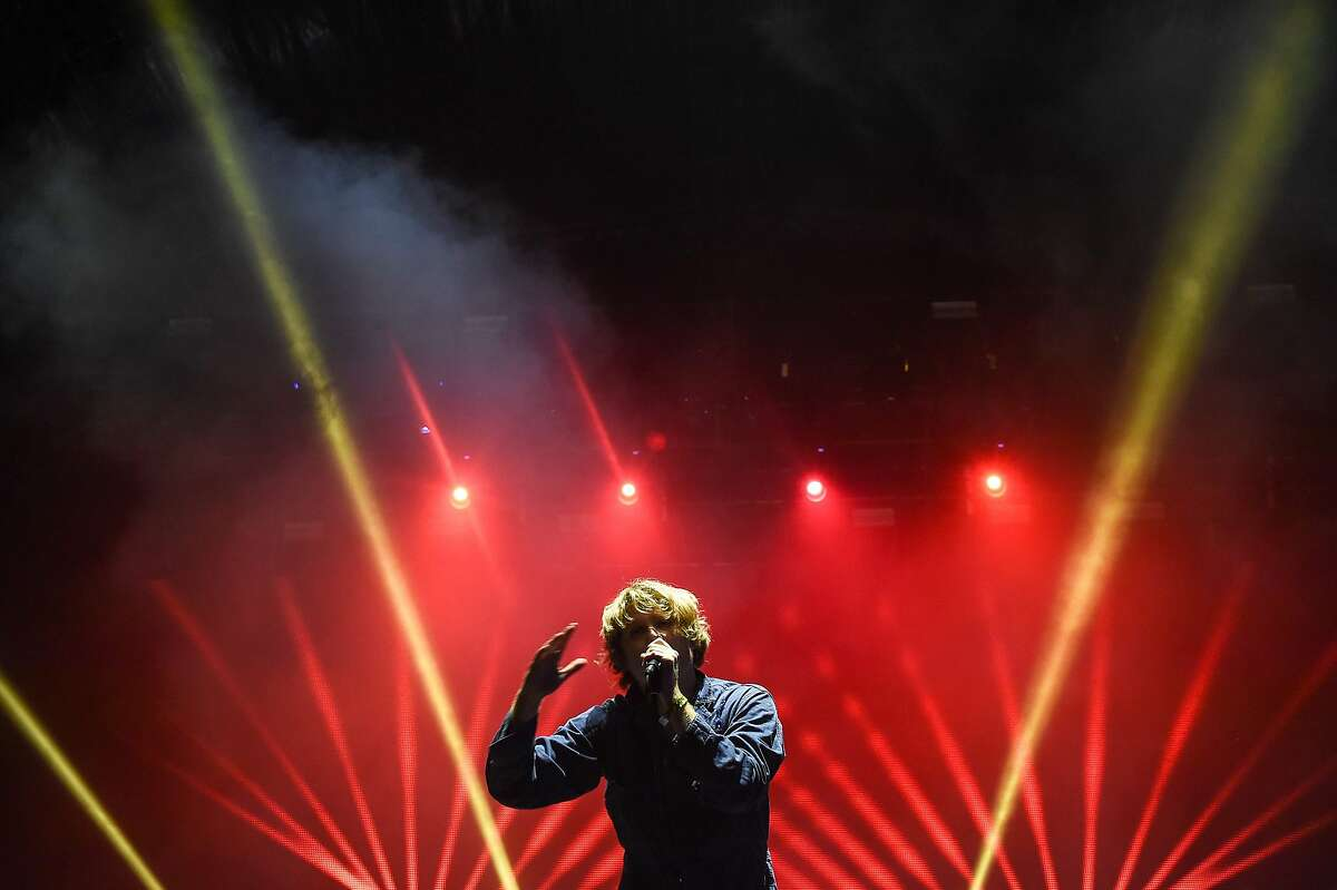 US singer Ty Segall performs on stage during the 28th Eurockeennes rock music festival on July 2, 2016 in Belfort. / AFP PHOTO / Sebastien BozonSEBASTIEN BOZON/AFP/Getty Images