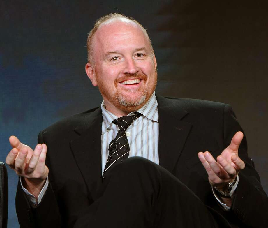 Louis C.K. is venturing into large venues with his show. Photo: Richard Shotwell, Richard Shotwell/Invision/AP