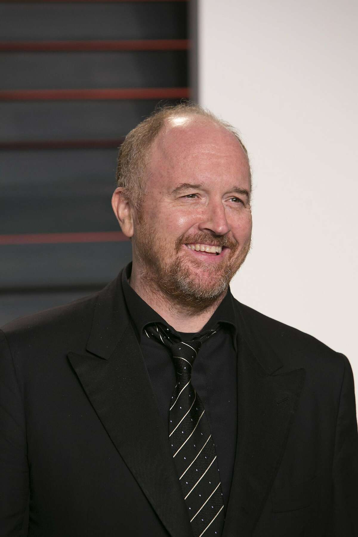 Louis C.K.arrives at the 2016 Vanity Fair Oscar Party in Beverly Hills in February.