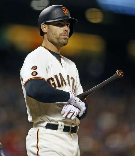 San Francisco Giants' Mac Williamson in 6th inning against Colorado Rockies during MLB game at AT&T Park in San Francisco, Calif., on Tuesday, July 5, 2016. Photo: Scott Strazzante, The Chronicle