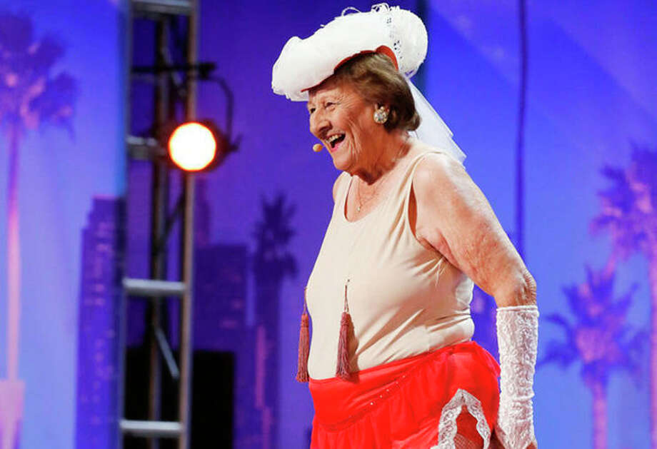 Dorothy Williams, 90, Impresses America's Got Talent's Nick Cannon With Burlesque Act