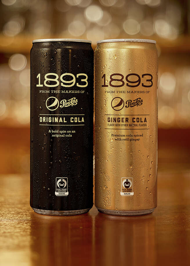 Pepsi's throwback version of its cola is Pepsi 1893. It comes in original and ginger flavors. Photo: PepsiCo