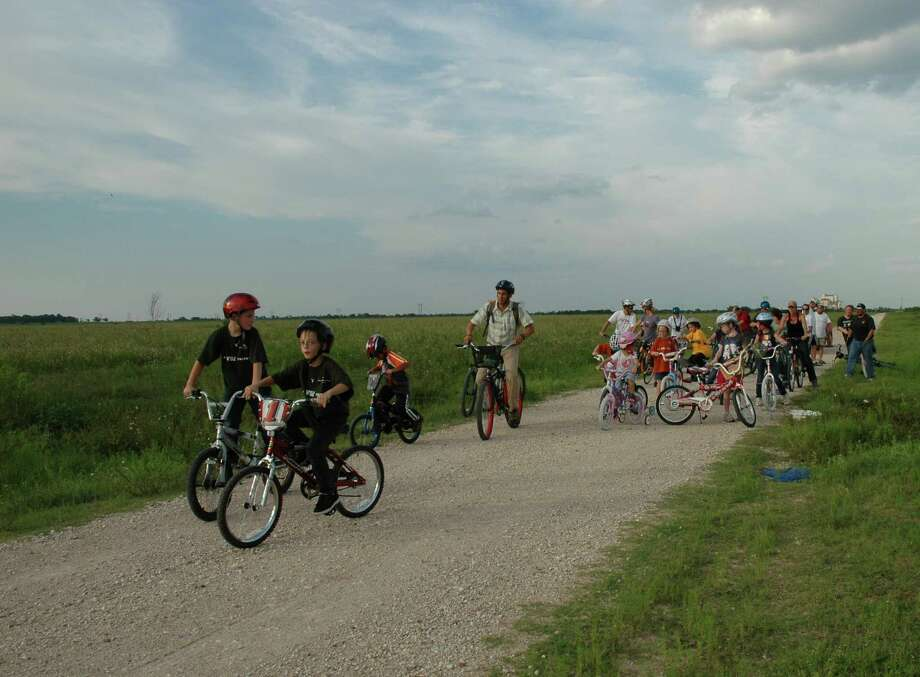 Join the Katy Prairie Conservancy for its Unplugged Adventure: Sunset Bike Ride on July 9.