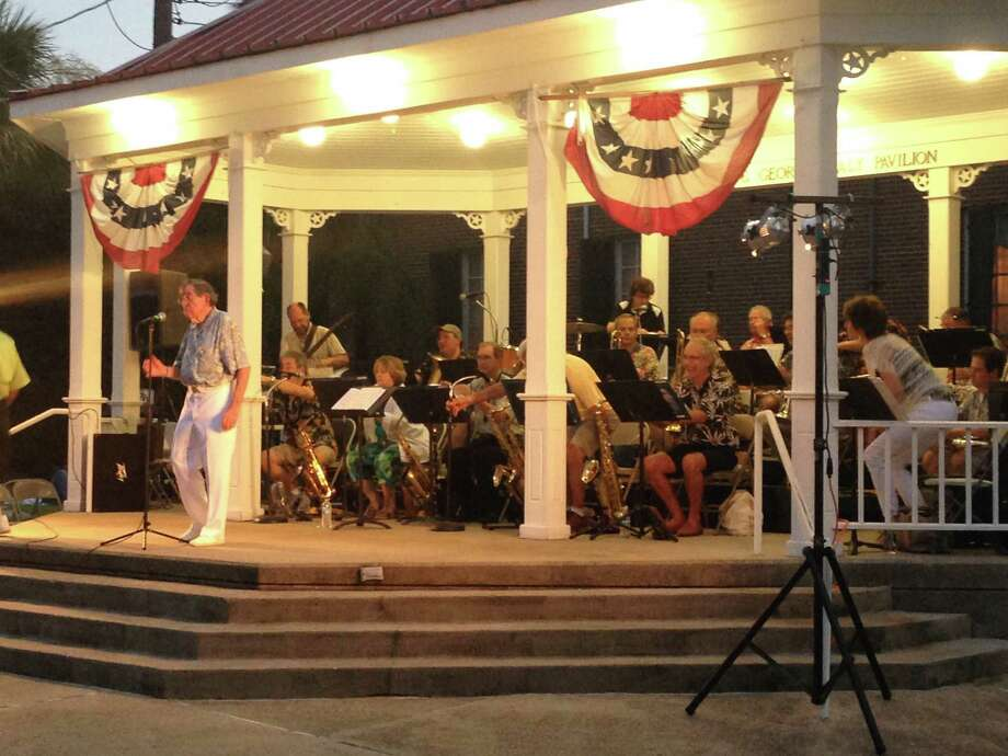 The Galveston Beach Band, under the direction of Frank Incaprera Jr., performs free 90-minute summer concerts on Tuesdays through Aug. 16 at the Sealy Pavilion in Galveston.