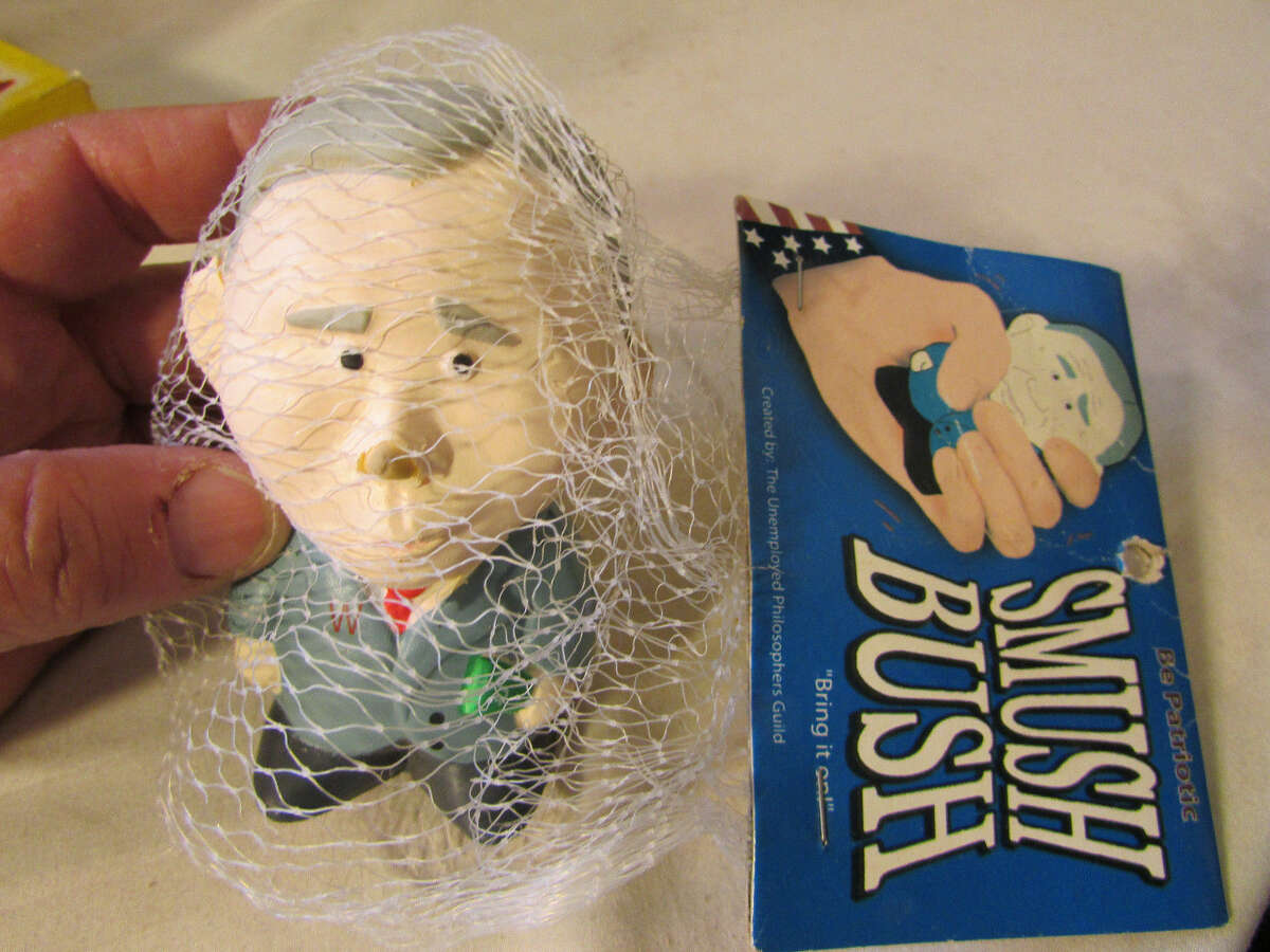 You can celebrate the birth of the 43rd President of the United States by purchasing one of several dolls featuring his likeness on eBay. Of course, some dolls are more flattering than others.