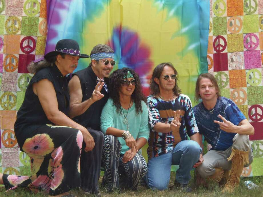 Woodstock comes to Westport this weekend when Back to the Garden 1969 performs at 7 p.m. on Sunday, July 10, at the Levitt Pavilion for Performing Arts as part of its free, outdoor summer series that kicked off earlier this month. Photo: Contributed Photo