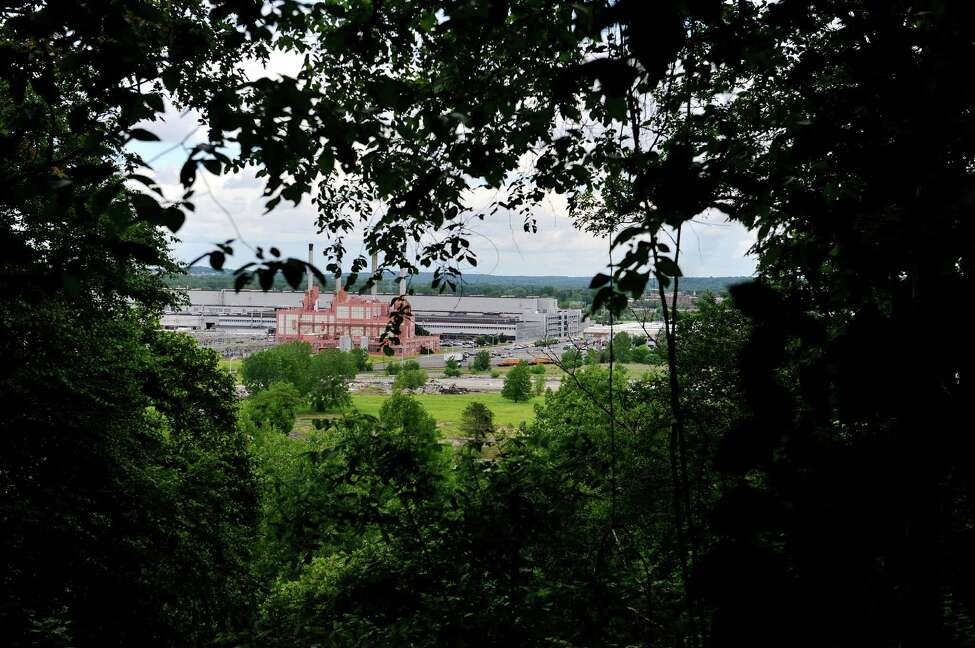 A view of the GE main plant complex, seen from Bellevue Bluffs, on Wednesday, June 8, 2016, in Schenectady, N.Y. (Paul Buckowski / Times Union)