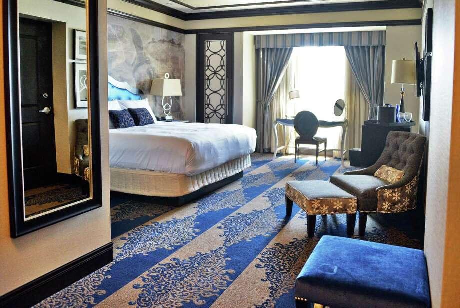A room interior at the Saratoga Casino Hotel Wednesday July 6, 2016 in Saratoga Springs, NY.  (John Carl D'Annibale / Times Union) Photo: John Carl D'Annibale / 20037202A