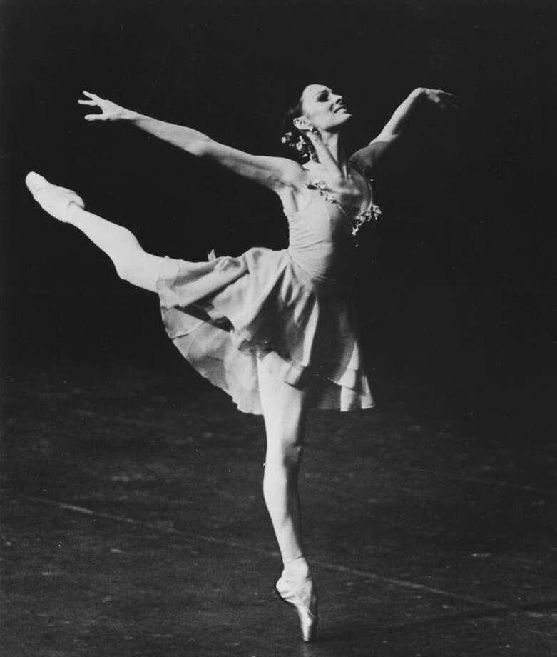 New York City Ballet dancer Patricia McBride