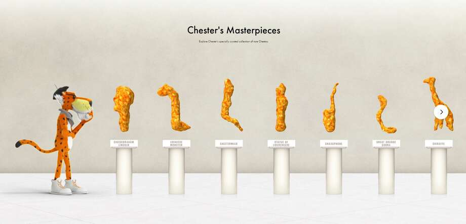 Chester the Cheetah wants to add to his museum of oddly shaped Cheetos and has put together a contest to find the next addition. Photo: Cheetos, Frito-Lay