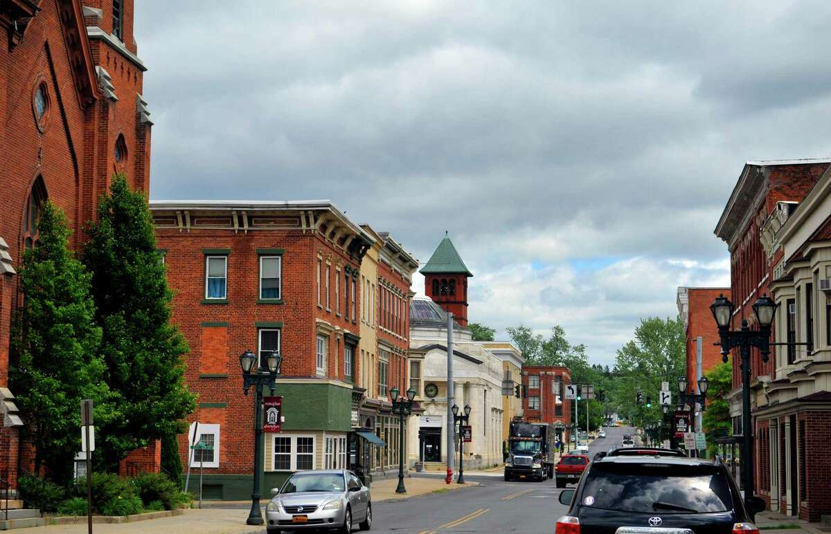 A view of the downtown Gloversville area. (Paul Buckowski / Times Union)