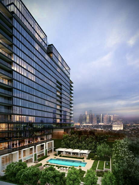 New York-based Arel Capital started construction on the 17-story River Oaks high-rise at 3433 Westheimer. The former apartment community will be converted into a luxury condominium with 84 units ranging from 1,500 to 9,000 square feet. Photo: Arel Capital / ONLINE_YES