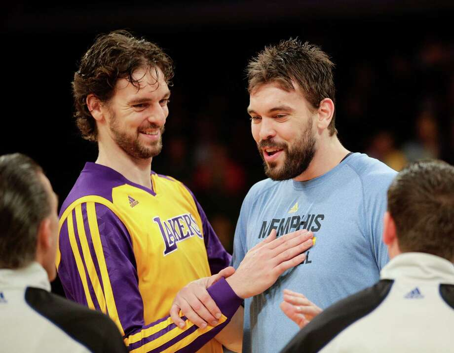 10 things you might not know about Pau Gasol:No. 1 He's made history: Pau Gasol and his younger brother, Memphis center Marc Gasol, made history when both started in the 2015 All-Star Game in 2015 at Madison Square Garden. (AP Photo/Jae C. Hong, File) Photo: Jae C. Hong, Associated Press / AP