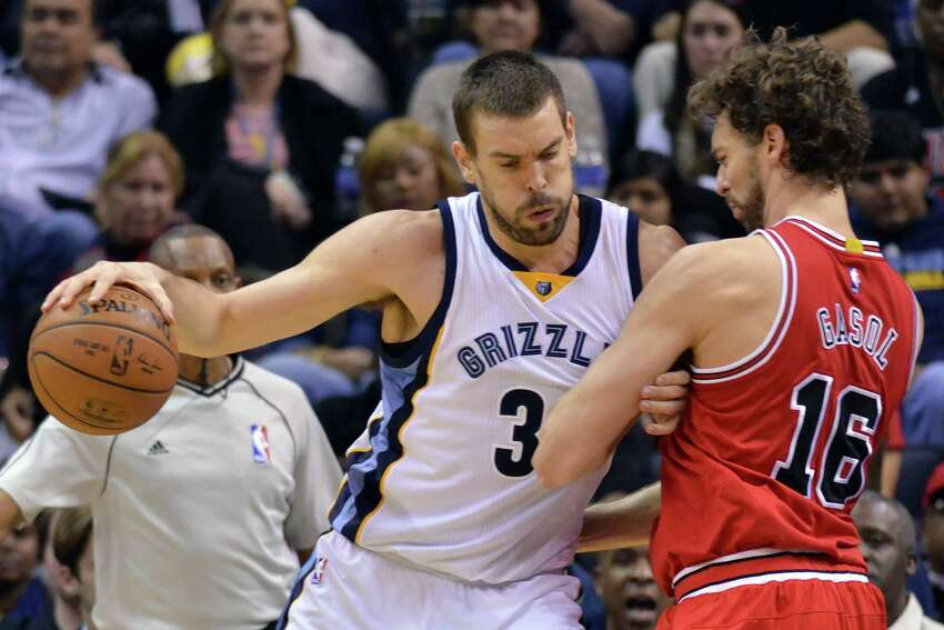 No. 2 He's an All Star: Pau Gasol (right) spent the last two seasons with Chicago where he earned All-Star Game appearances in both seasons with the Bulls. (AP Photo/Brandon Dill)