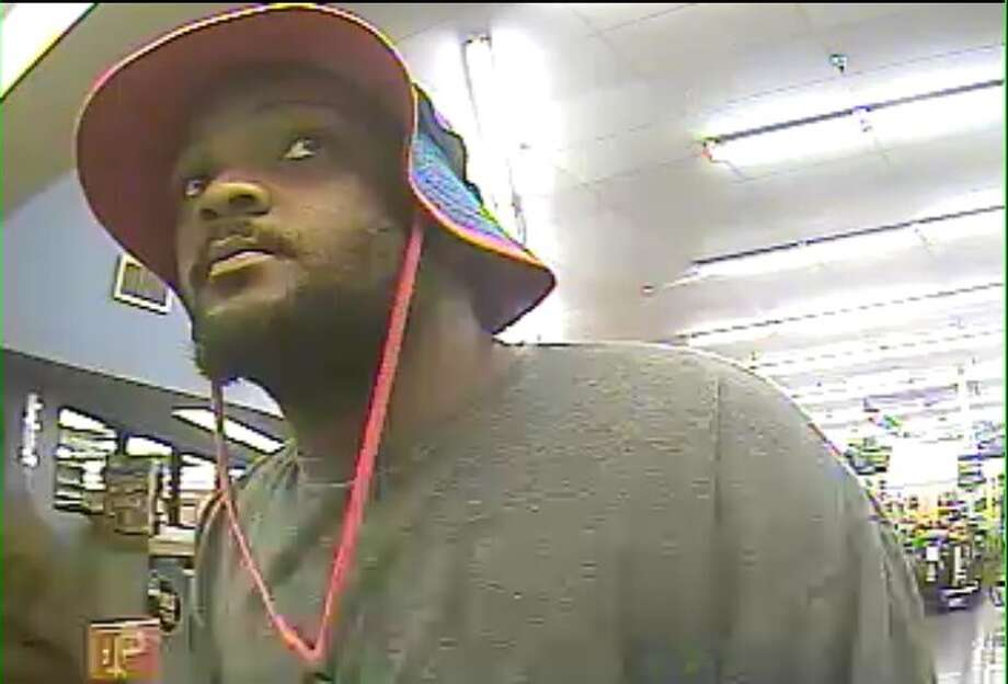 The FBI in Houston is looking for a man accused of robbing First Convenience Bank inside a Kroger at 8550 Texas 6 North on Wednesday. Photo: FBI Houston