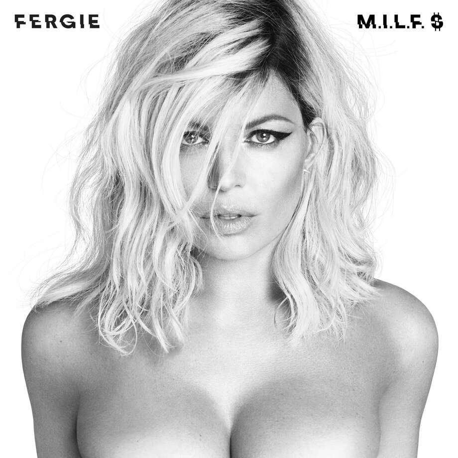 "This image released by Interscope Records shows the cover image for Fergie's latest single, ""M.I.L.F. $."" The song and video co-starring Kim Kardashian, Chrissy Teigen and Ciara, debuted Friday, July 1, 2016 and quickly became a trending topic on social media. (Interscope Records via AP) ORG XMIT: NYET307 / Interscope Records"