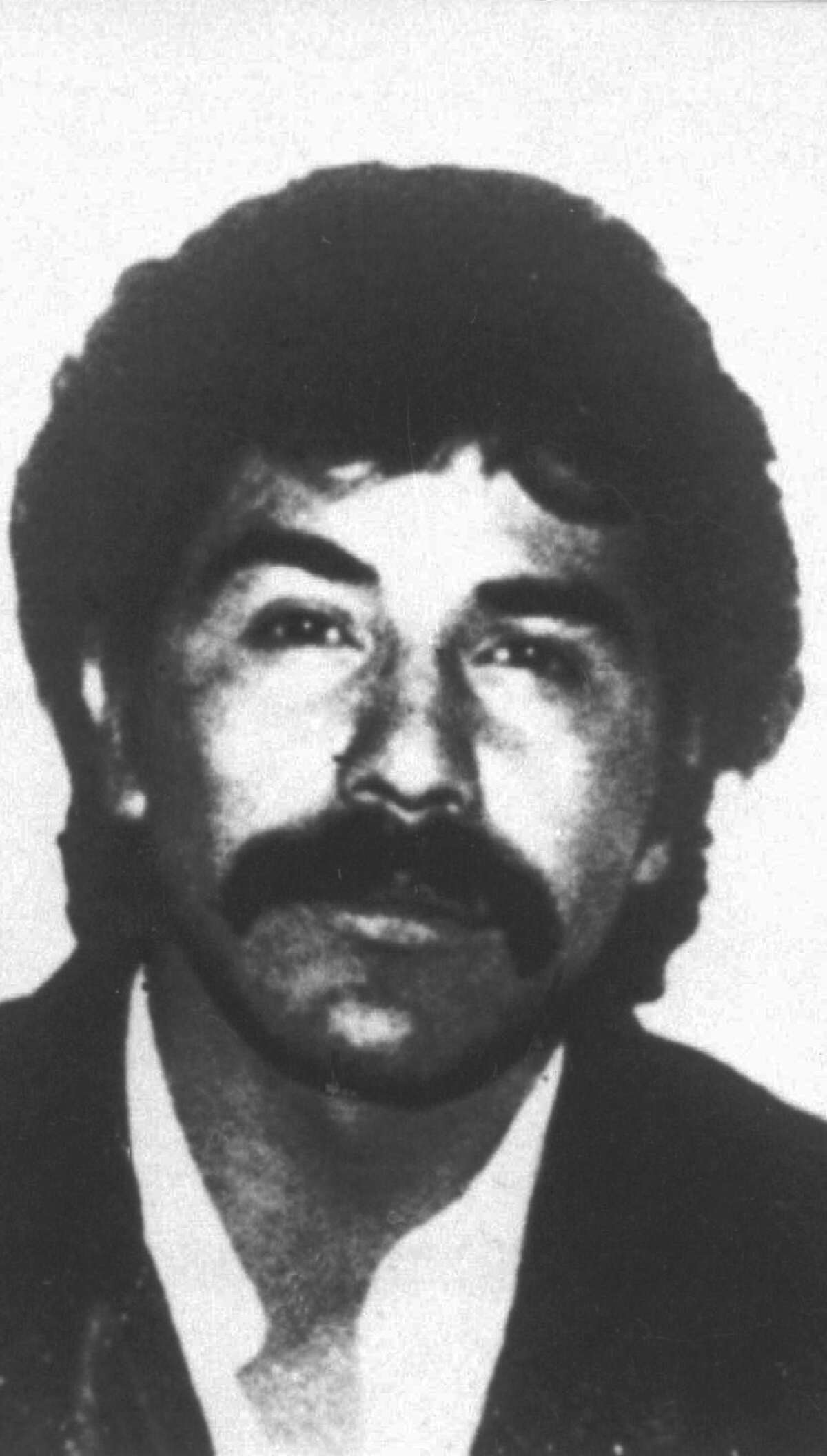 CORRECTS DATE OF ANNOUNCEMENT - FILE - This undated file photo provided by Mexico's government shows drug lord Rafael Caro Quintero in an unknown location. Chihuahua Attorney General Jorge Gonzalez told reporters on Tuesday, July 5, 2016 that the old-guard drug lord mistakenly released in 2013 is apparently trying to get back into the drug trade. (Mexico's government via AP/File) ORG XMIT: XLAT136