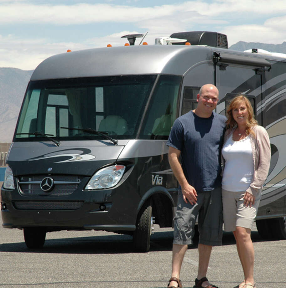 Brad and Amy Herzog worked as spokespeople for the Recreational Vehicle Industry Association for nearly 17 years. Photo: Courtesy Brad And Amy Herzog
