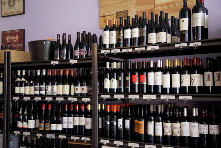 The wine selection of Nectar Wine Bar & ale House, which got the critic's pick for Wine Selection. Photo: Courtesy Photo