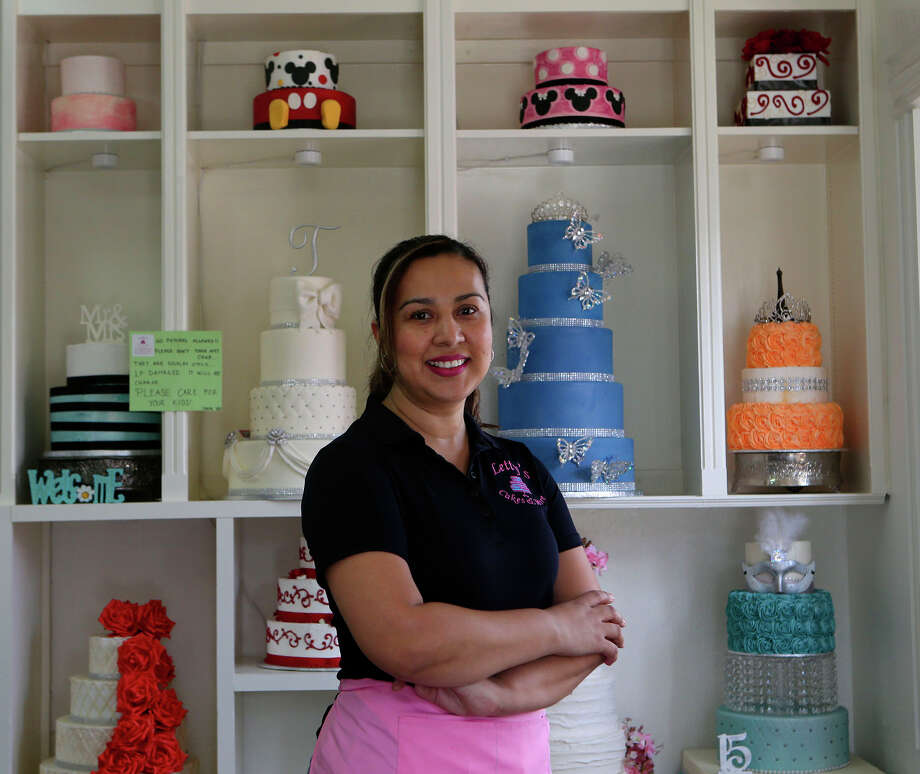 Letty Medrano runs Letty's Cakes and More at 1717 Fredericksburg Road. Her business won Reader's Choice for best bakery. Photo: John Davenport, Staff / San Antonio Express-News / ?©John Davenport/San Antonio Express-News