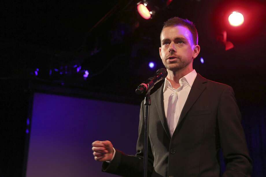 Twitter co-Founder Jack Dorsey speaks at a campaign fundraiser for Democratic Candidate for Public Advocate Reshma Saujani, Wednesday, April 24, 2013 in New York.  (AP Photo/Mary Altaffer) Photo: Mary Altaffer, AP