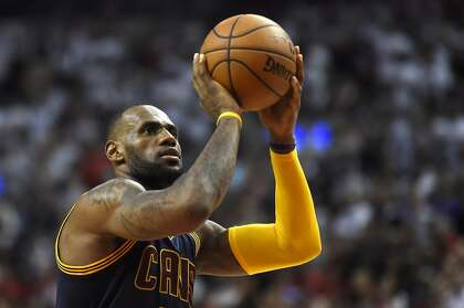 LeBron at the line: Anybody's guess, including his own
