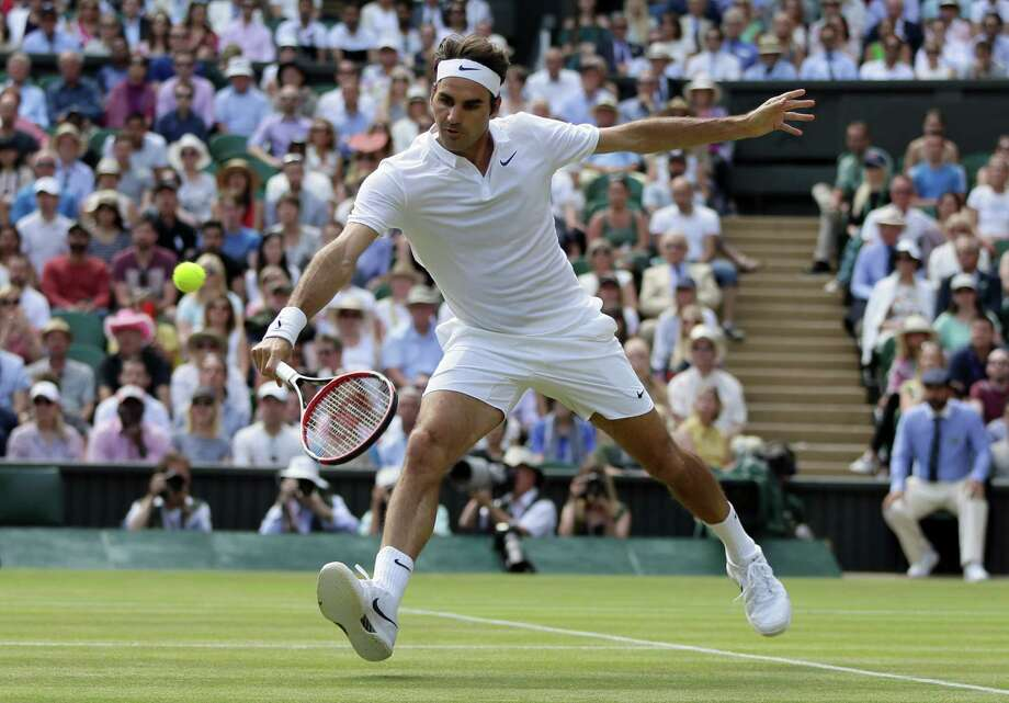 Federer Toughs It Out San Antonio Express News