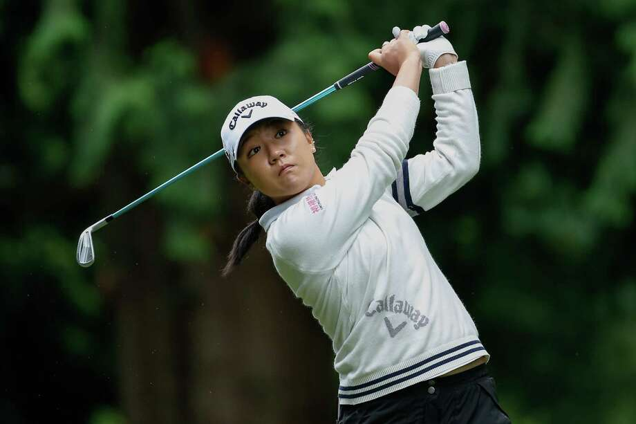 SAMMAMISH, WA - JUNE 11:  Lydia Ko of New Zealand hits a tee shot on the 9th tee during the third round of the KPMG Women's PGA Championship at Sahalee Country Club on June 11, 2016 in Sammamish, Washington.  (Photo by Otto Greule Jr/Getty Images) ORG XMIT: 597191219 Photo: Otto Greule Jr / 2016 Getty Images