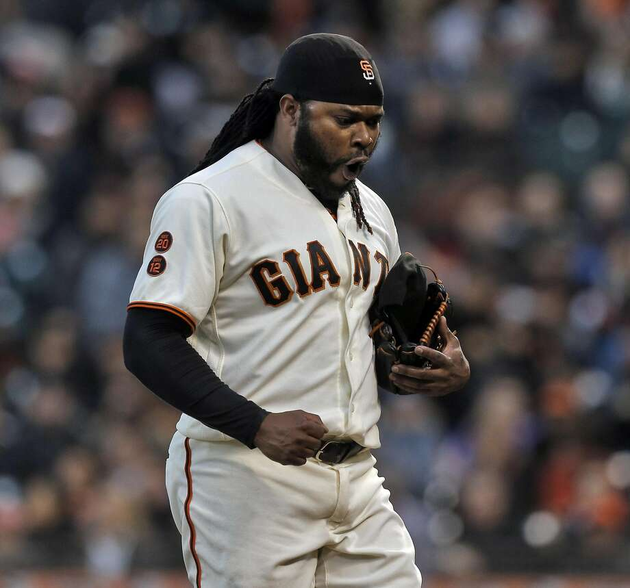 "Johnny Cueto said he would have gone ""crazy"" with his teammates at the World Baseball Classic had the Dominican Republic advanced. Photo: Carlos Avila Gonzalez, The Chronicle"