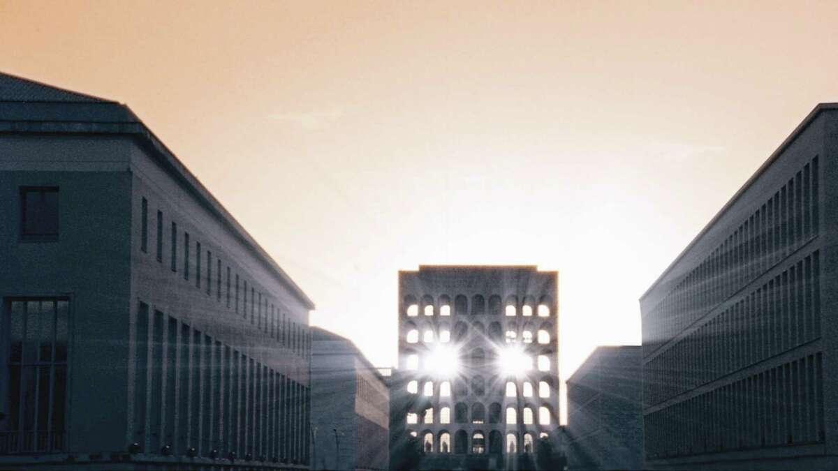 "Production still from: Laurent Grasso's ""Soleil Double"" 16mm film credit: MASSMoCA"