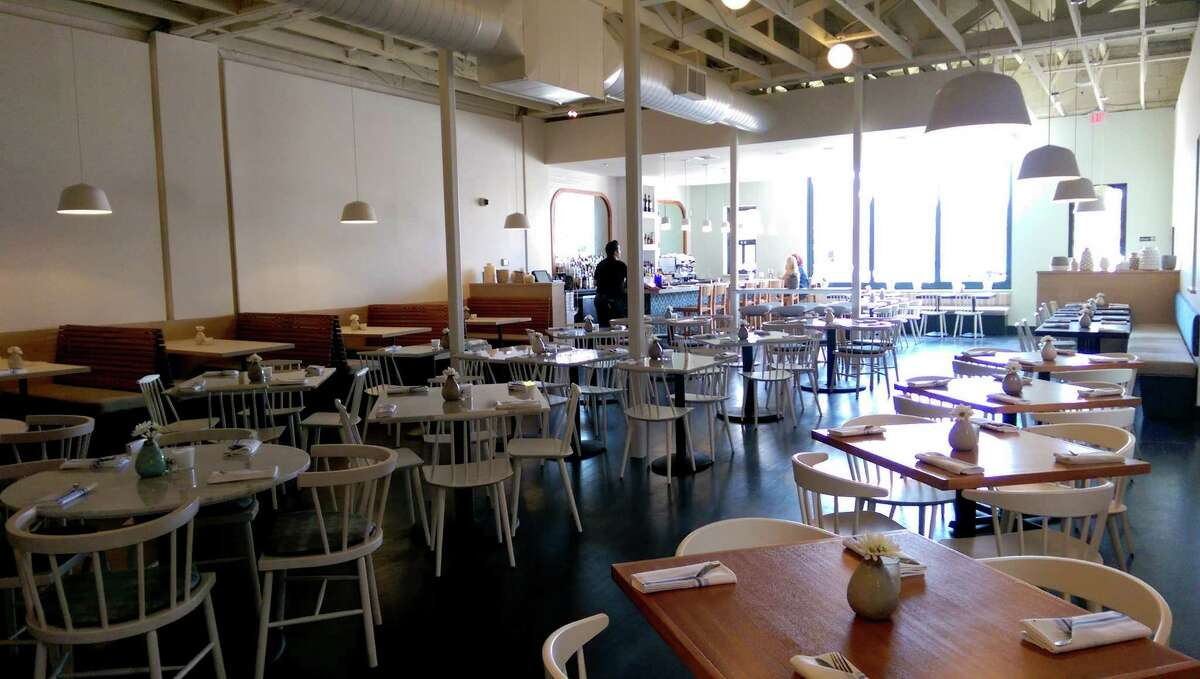 Shade restaurant in the Heights sports newly redesigned interiors. RMMR Projects created the new look; the company also designed owner Claire Smith's Woodbar in Montrose.