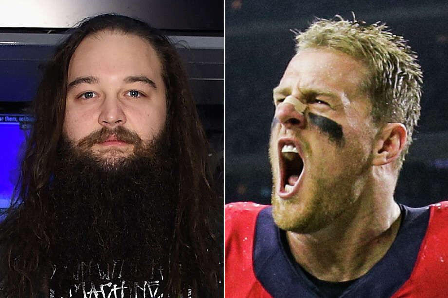 "WWE star Bray Wyatt called Texans star J.J. Watt ""a super, super tough guy"" and ""the best at what he does.""Click through the gallery to see pro wrestlers with Texas ties over the years."
