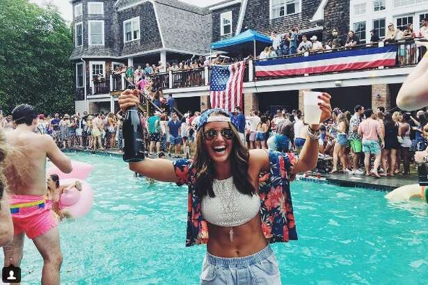Instagram gives an inside look into Sprayathon, a Hamptons party, hosted on July 3, 2016.