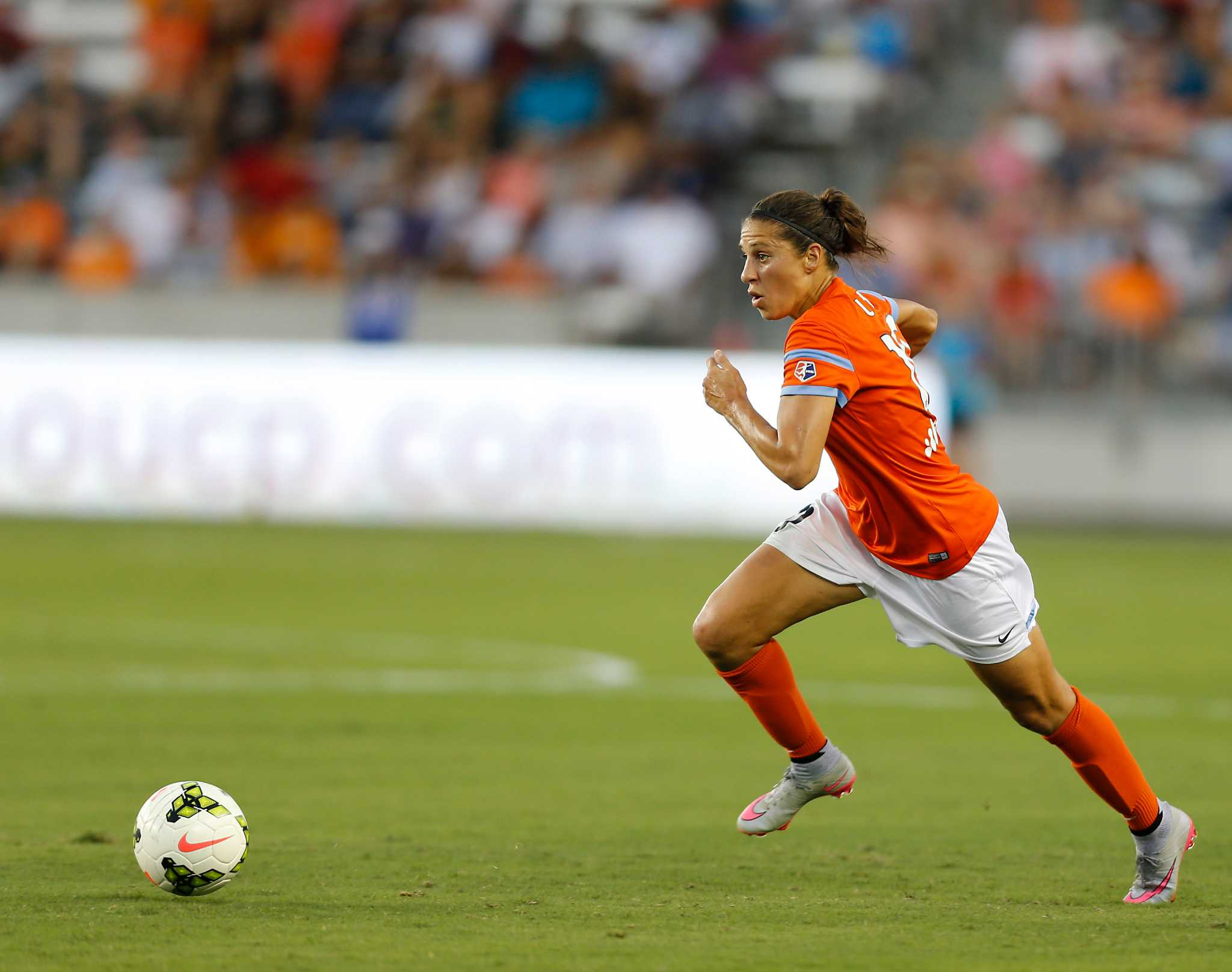 Carli Lloyd Quotes Source Nwsl Minimum Salary To More Than Double  Houston Chronicle