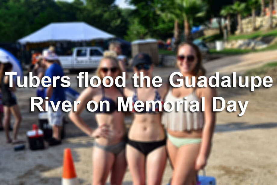 Memorial Day weekend along River Road and the Guadalupe River in New Braunfels can only mean one thing. Well, three things. People, inner tubes, and cold beverages.Here is a look at tubers on the Guadalupe Saturday, May 28, 2016. Photo: By Kody Melton, For MySA.com