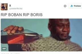 @ xavierflocka :  RIP BOBAN RIP BORIS