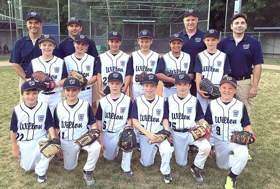 The Wilton Little League 10-year-old All-Stars enter the elimination bracket portion of the Division 1 playoffs on Friday after going 2-1 in pool play last week. Photo: Contributed Photo / Hearst Connecticut Media