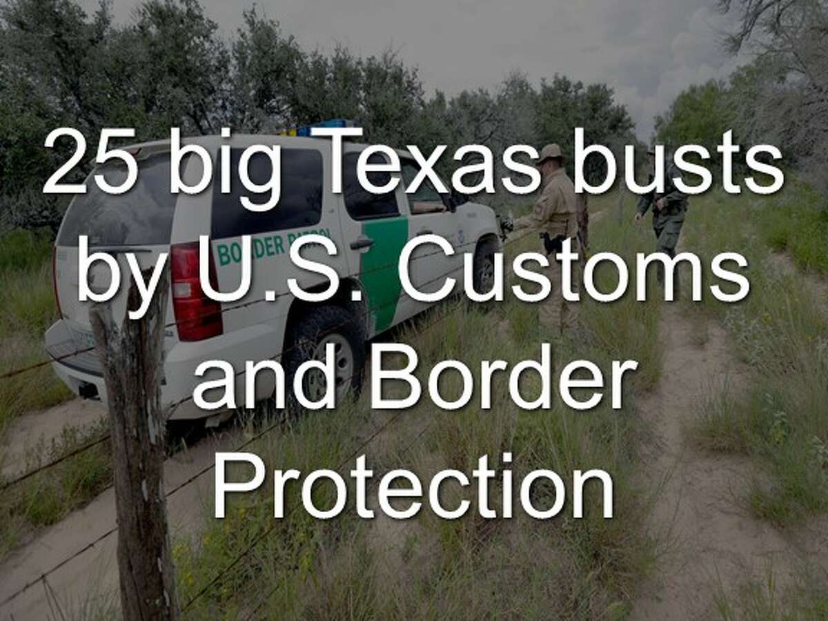Click through the slideshow to see some of the biggest busts by U.S. Customs and Border Protection in Texas.