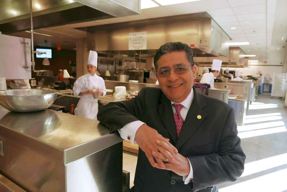 Fernando Salazar has completed his first year as managing director of the Culinary Institute of America-San Antonio.  June 28, 2016. Photo: Billy Calzada, Staff / San Antonio Express-News / San Antonio Express-News
