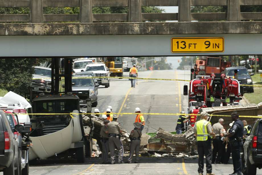 Brein Bullock, 12, died after the U.S. 90 bridge collapsed July 7, 2016 in Sealy. The collapse occurred about 10 a.m. on U.S. 90 near Texas 36, according to the Sealy Police Department. Photo: Brett Coomer / Houston Chronicle